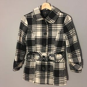 Kid's Plaid Winter Coat